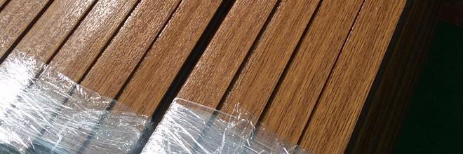 Wood Laminate PVC profiles