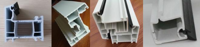 60mm casement classic upvc window profiles