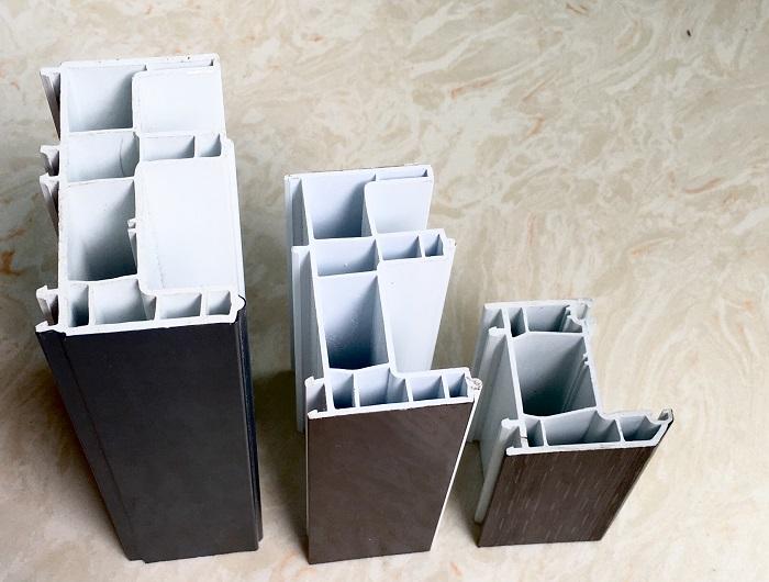 ASA-PVC Co-extrusion Double Color Profiles